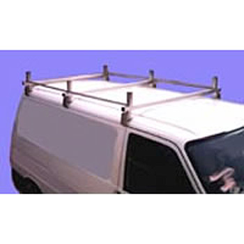 Volkswagen VW Transporter T4 Van 3 Bar Stainless Steel Roof Rack